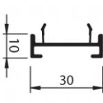 Wel opvulling – links + rechts 3cm