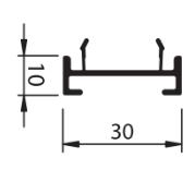 Wel opvulling – links + rechts 1cm